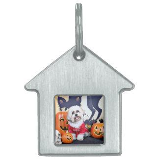 Halloween - Shih Tzu - Jhanggoon Pet ID Tag