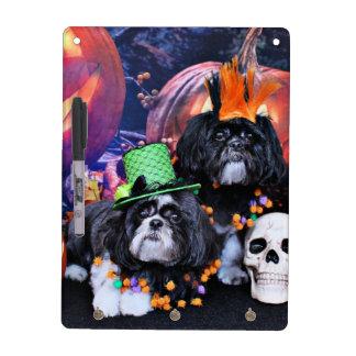 Halloween - Shih Tzu - Ruffles Riley Dry-Erase Board