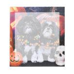 Halloween - Shih Tzu - volantes Riley Blocs De Papel