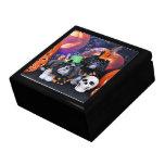 Halloween - Shih Tzu - volantes Riley Caja De Recuerdo