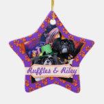 Halloween - Shih Tzu - volantes Riley Ornamento De Navidad