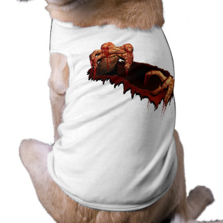 Halloween Shirt Dog Costume Halloween Zombie Shirt
