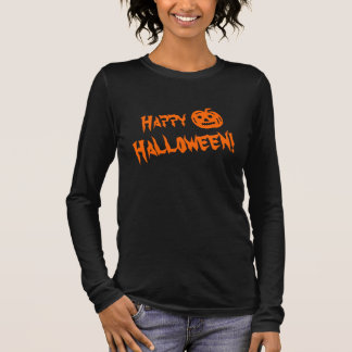 Halloween shirt for women | carved pumpkin head