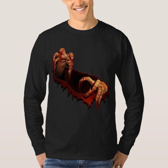 Halloween Shirt Horror Zombie Undead Tee Shirt