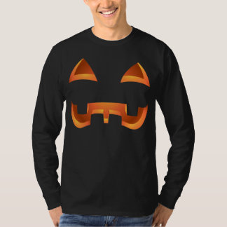 Halloween Shirt Pumpkin Top Jack-o-lantern T-Shirt