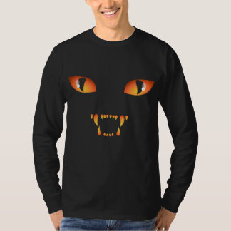Halloween Shirt Spooky Black Cat Unisex Shirt Tee