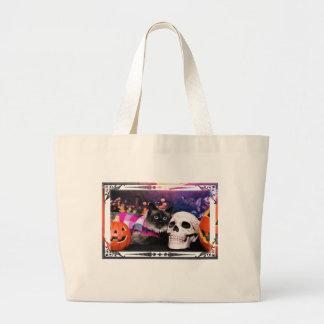 Halloween - Siamese Cat - Mia Marie Canvas Bags