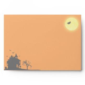 Halloween Silhouette Landscape - Envelope A7