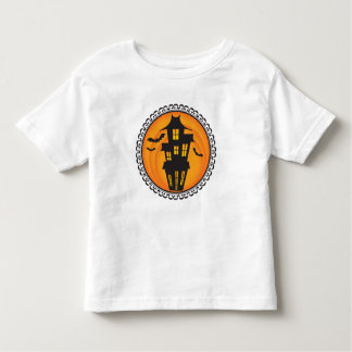 Halloween Silhouettes Haunted House T-Shirt