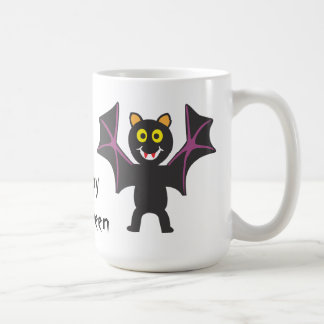 Halloween Silly Bat Coffee Mug