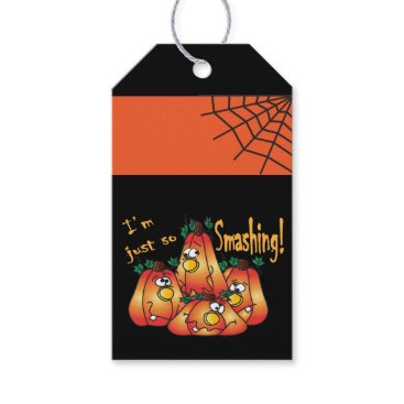 Halloween Themed Halloween - Silly Face Pumpkins Gift Tags