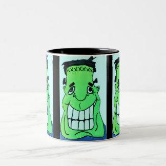 HALLOWEEN SILLY FRANKENSTIEN mug