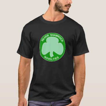 Halloween Themed Halloween Silver Shamrock Logo T-Shirt