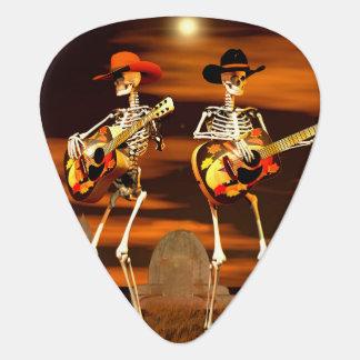 Halloween Skeleton Concert Guitar Pick