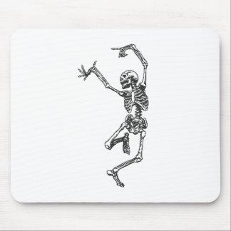 Halloween Skeleton Dancing Mousepad