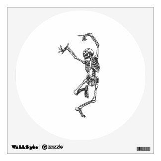 Halloween Skeleton Dancing Room Decals