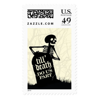 Halloween Skeleton Grave | Atelier Isabey Stamps