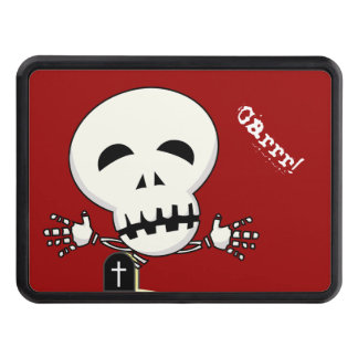 Halloween skeleton hitch cover
