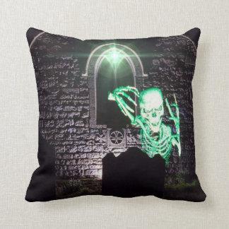 Halloween skeleton pillow