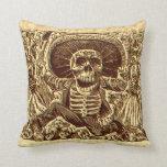 Halloween Skeleton Pirate Pillows