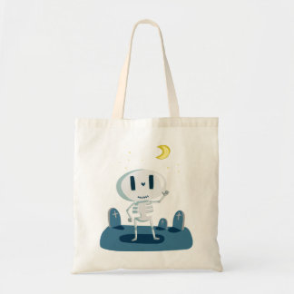 Halloween Skeleton Waving Great Gift for Halloween Tote Bag