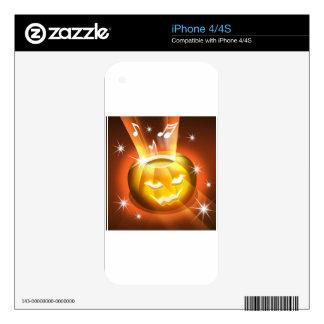 Halloween iPhone 4S Skin