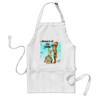 Halloween - Skinny Witch Adult Apron