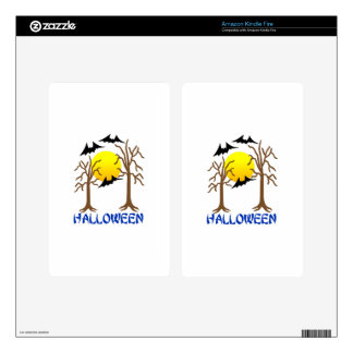 Halloween Skins For Kindle Fire