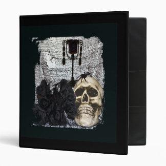 Halloween Skull-008 Binder