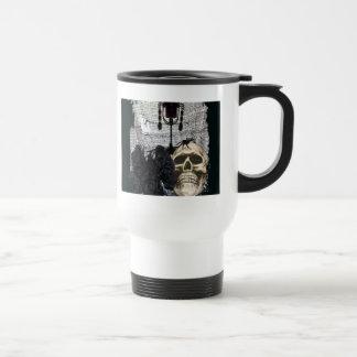 Halloween Skull-008 Travel Mug