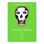 Halloween Skull 4.5x6.25 Paper Invitation Card