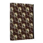 Halloween Skull And Crossbones Creepy iPad Cases