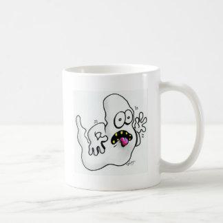 Halloween Skull and Ghost Coffee Mugs