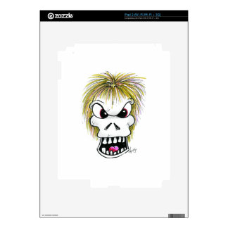 Halloween Skull and Ghost Decals For The iPad 2