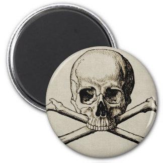 Halloween Skull Bone Magnet