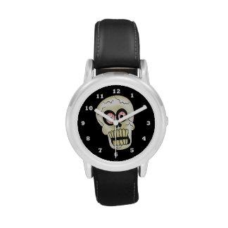 Halloween Skull cartoon kids watch
