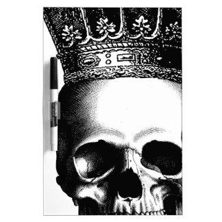 Halloween Skull Crown Royal Dry Erase Board