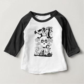 Halloween Skull Custom Design Baby T-Shirt