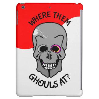 Halloween Skull iPad Air Covers