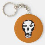 Halloween Skull Keychains