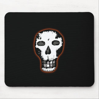 Halloween Skull Mouse Pad