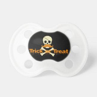 halloween skull pacifiers