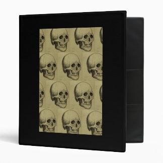 Halloween Skull Pattern Binder