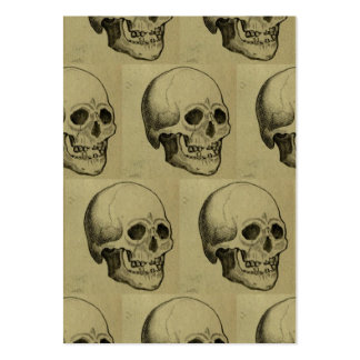 Halloween Skull Pattern Large Business Cards (Pack Of 100)
