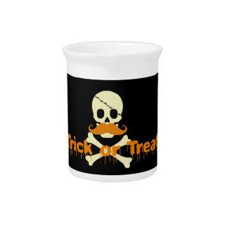 halloween skull drink pitchers
