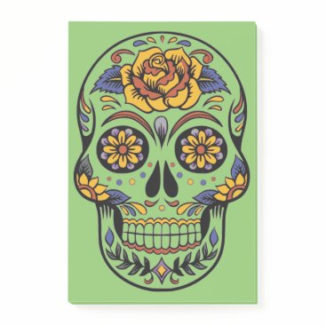 Halloween Themed Halloween Skull Post-it Notes