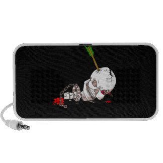 Halloween Skull iPod Speakers