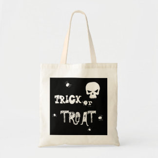 Halloween Skull Spider | Trick Or Treat Tote Bag