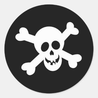 Halloween Skull Stickers