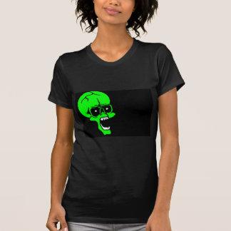 halloween skull tee shirt